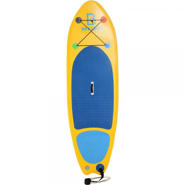 Prancha de Stand Up Paddle Brazzos Inflável Teens/ Small Amarelo