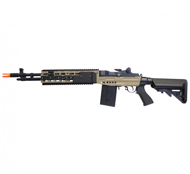 Rifle Airsoft M14 EBR Dual Color Custom By ActionX