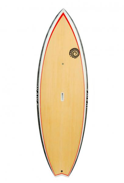 Prancha de Stand Up Paddle Ikaika Wave Pro Branco